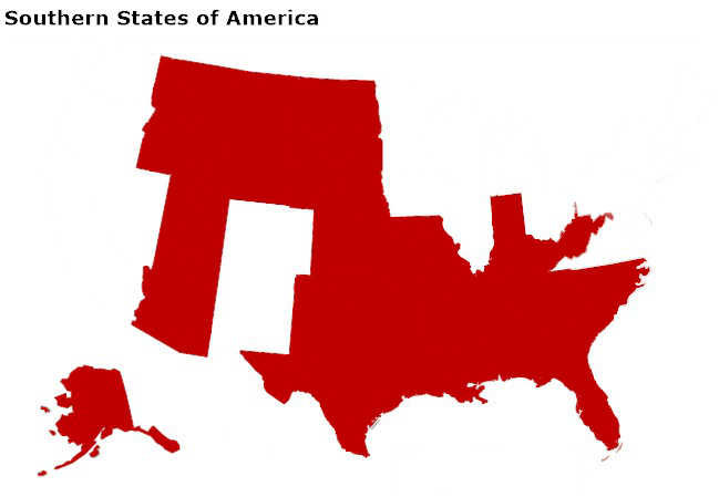 Southern States of America